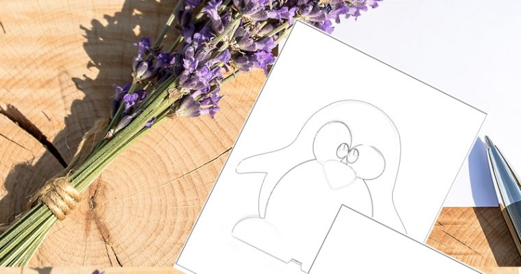 printable penguin coloring
