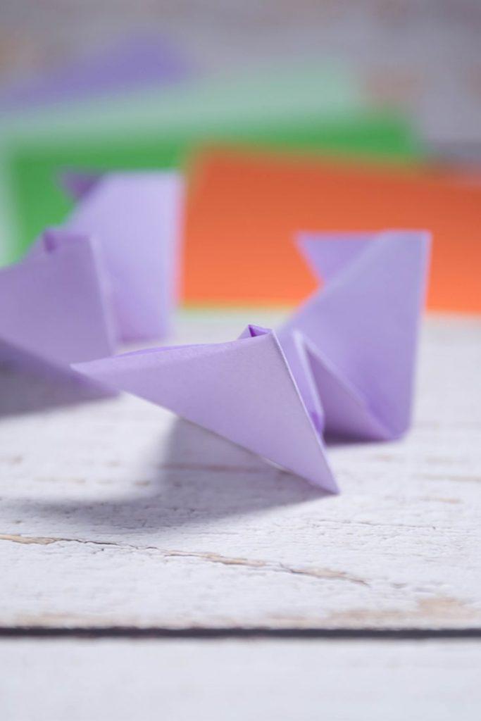 Easy Origami Bat