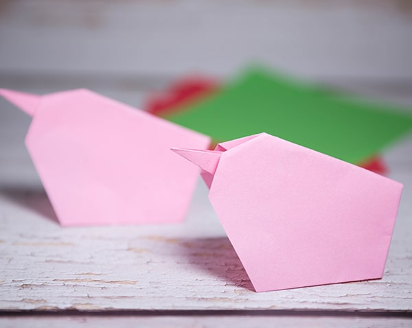 origami chick