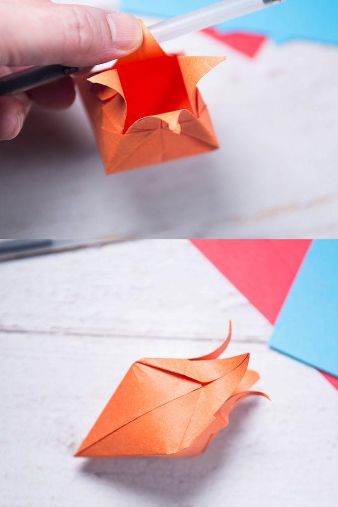origami harebells