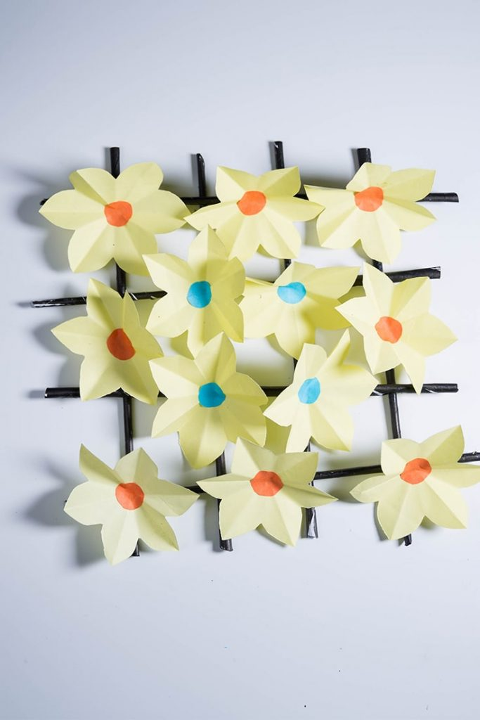 diy paper flowers wall decor
