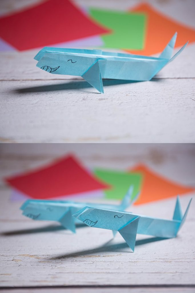 Origami Whale Folding Instructions