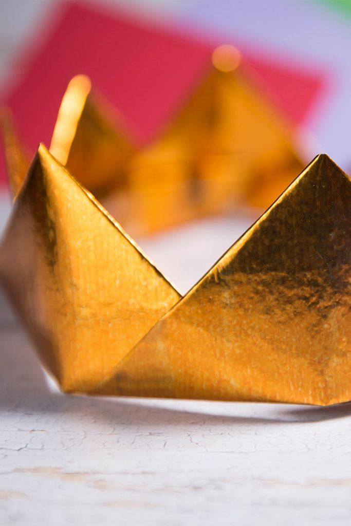 Origami Modular Crown