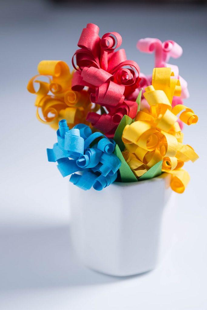 paper hyacinth craft