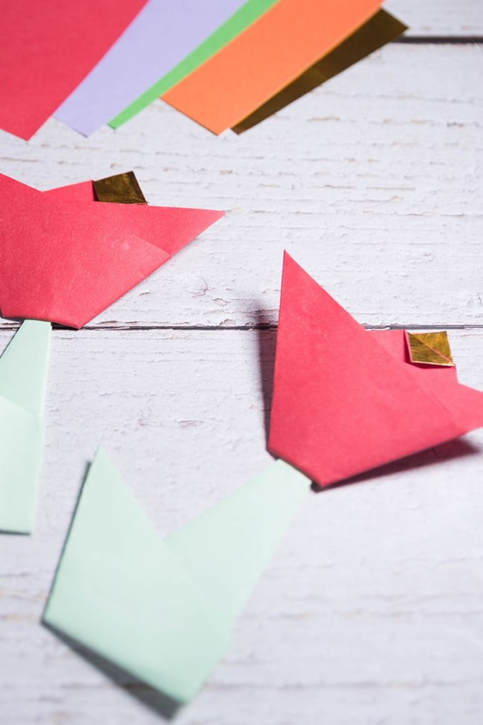easy origami tulip flower