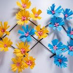 diy paper flower wall decorations