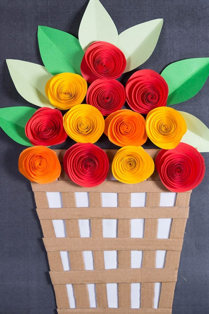 How to make paper rose flower