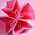 Origami Kusudama Cherry Blossom