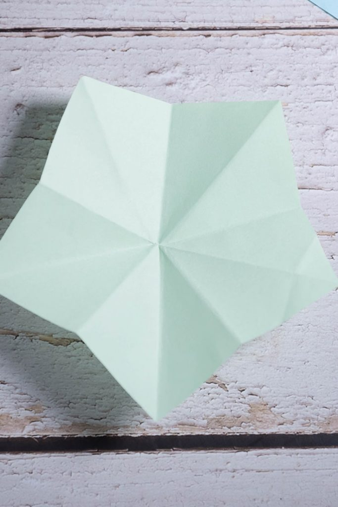 Origami Pentagon Base