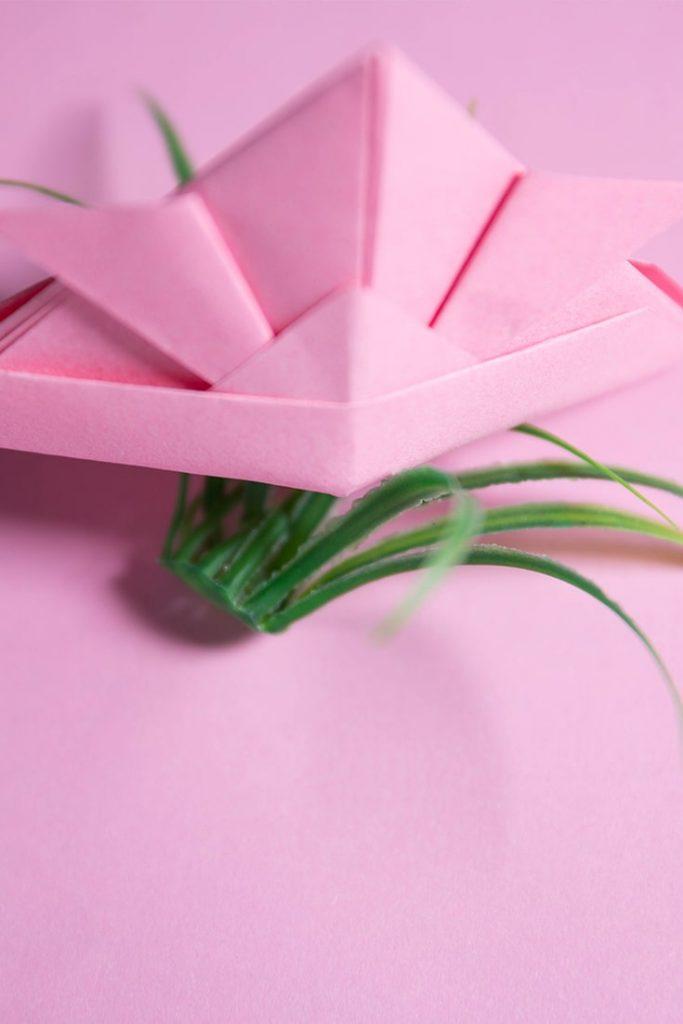 Origami Samurai Helmet