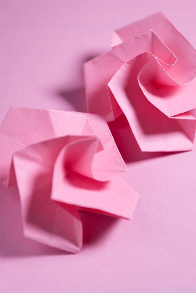 Origami Twisty Rose