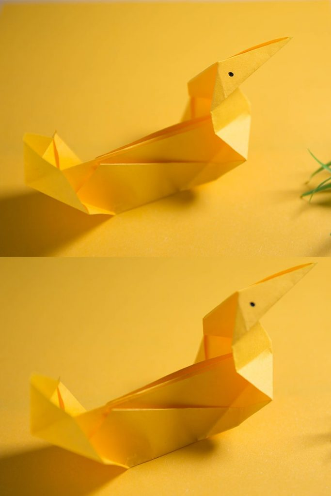 How to Make an Easy Origami Duck