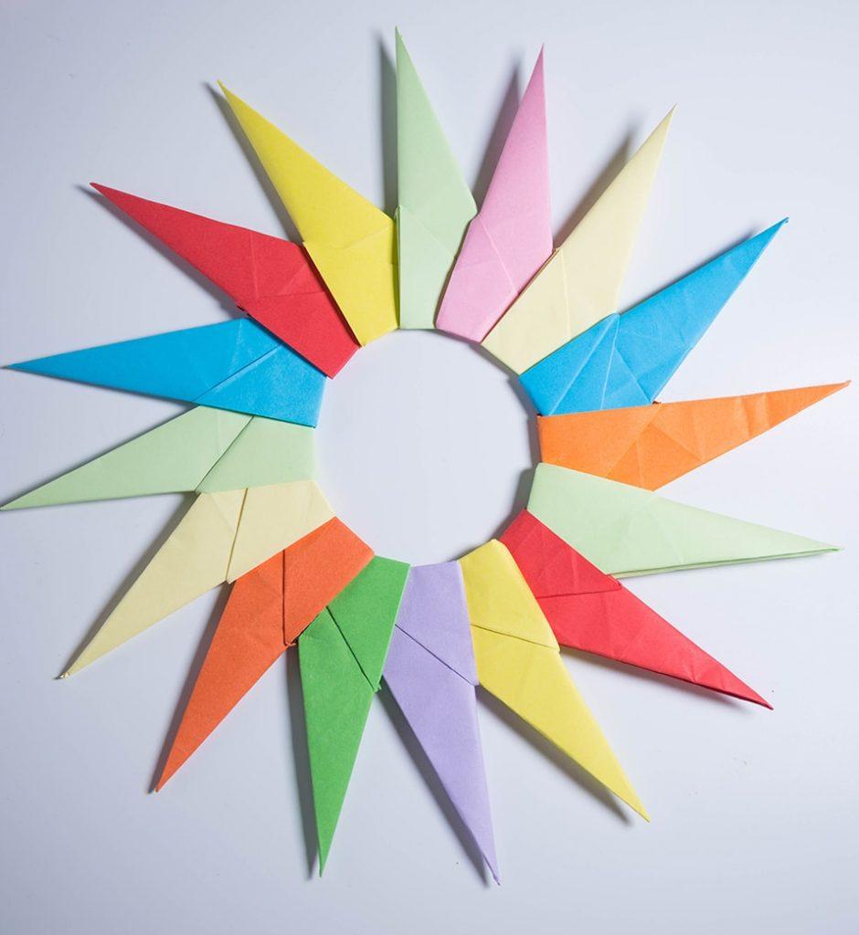 16 Point Origami Modular Star