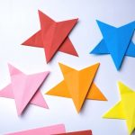 how to make a 5 pointed origami star!