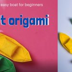 Boat origami | origami easy boat for beginners