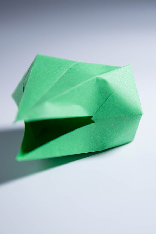 how to make origami dragon Head