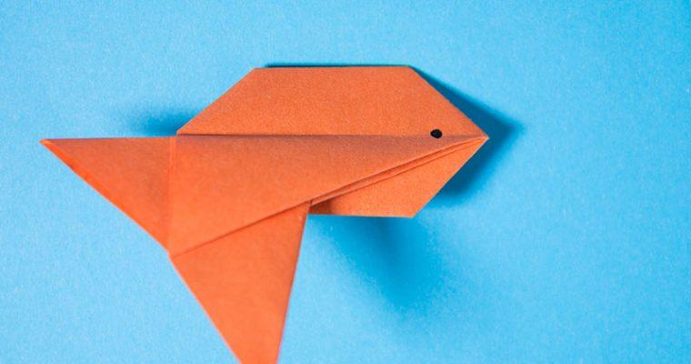 Origami Inflatable Goldfish