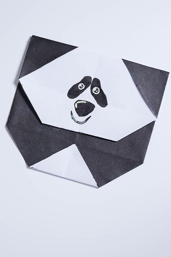 Origami Panda