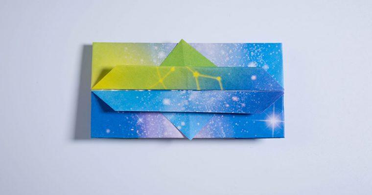 Origami Tissue Holder