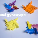 How to Make a Paper Gyroscope Folding Tutorial