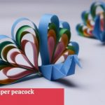 How to make a paper Peacock? show you a beautiful paper peacock making easy at home.