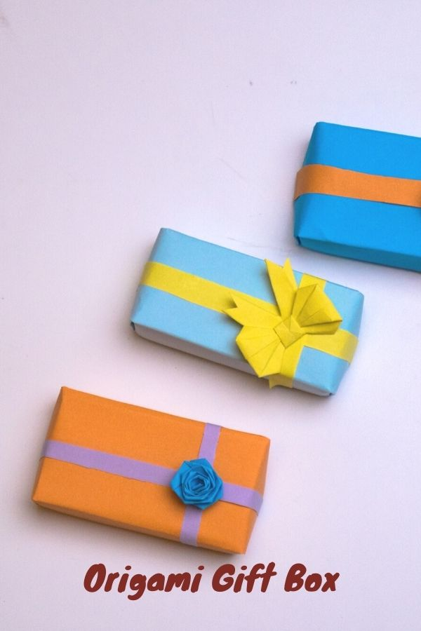 How to Fold an Origami Gift Box