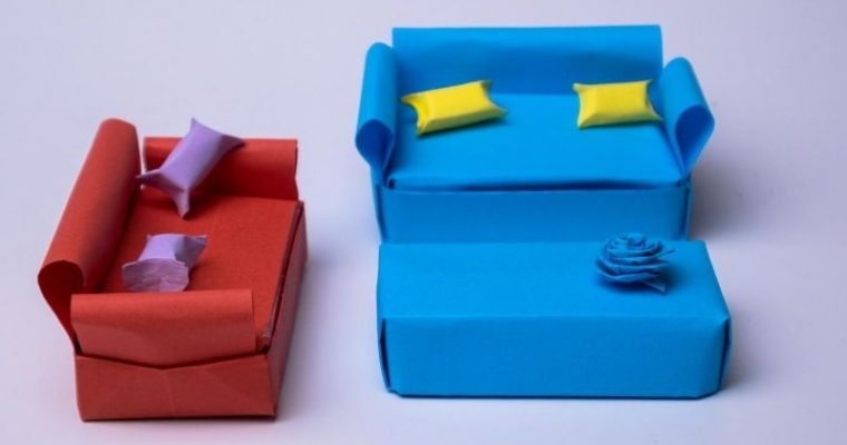 How to Make an Paper sofa