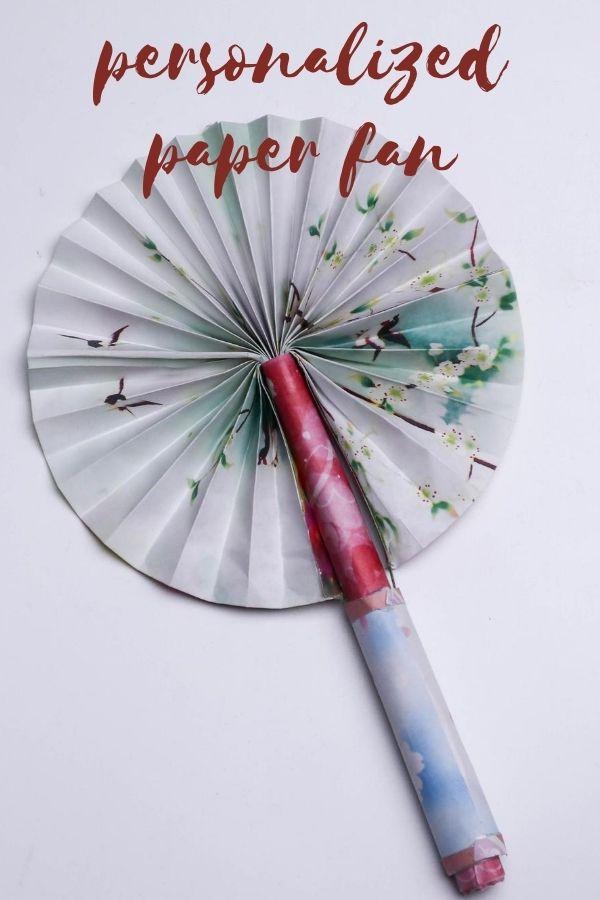 Origami Fan | Creative Paper Fan
