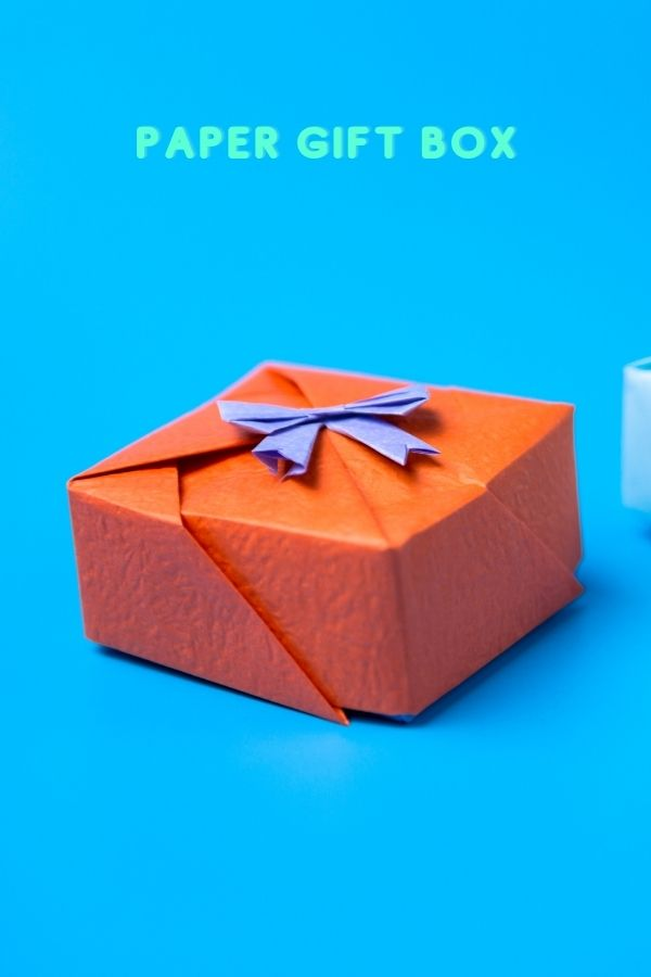 How to make paper gift boxes