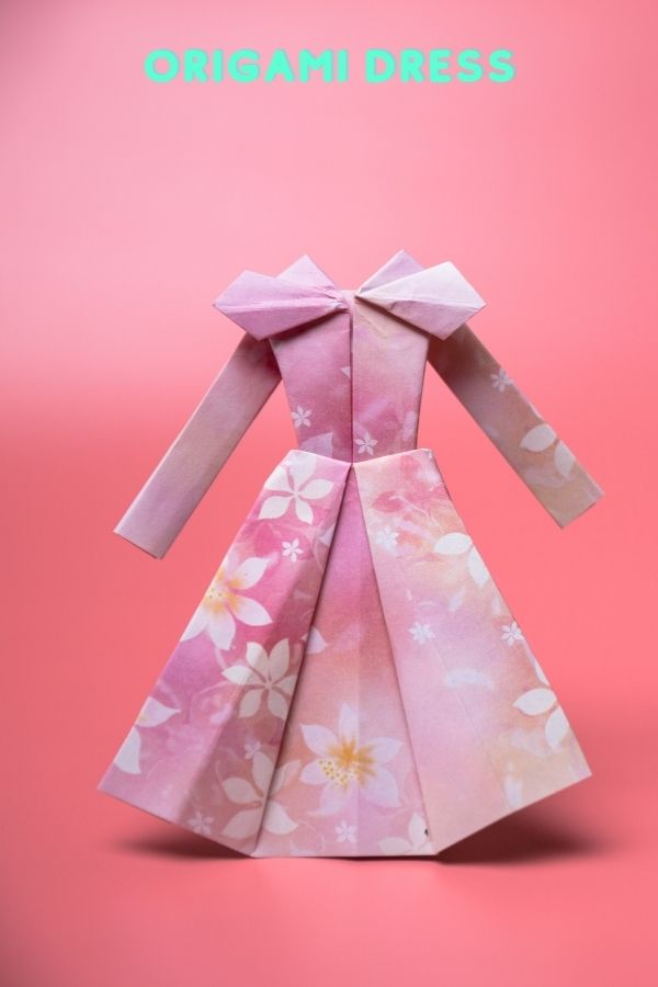 How to Make Origami Dress