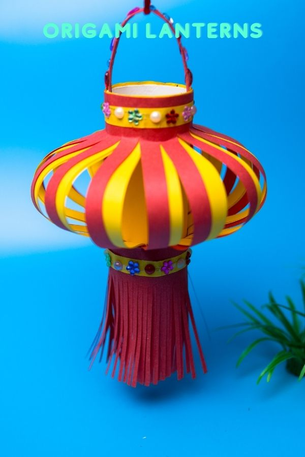 Handmade of Origami lanterns