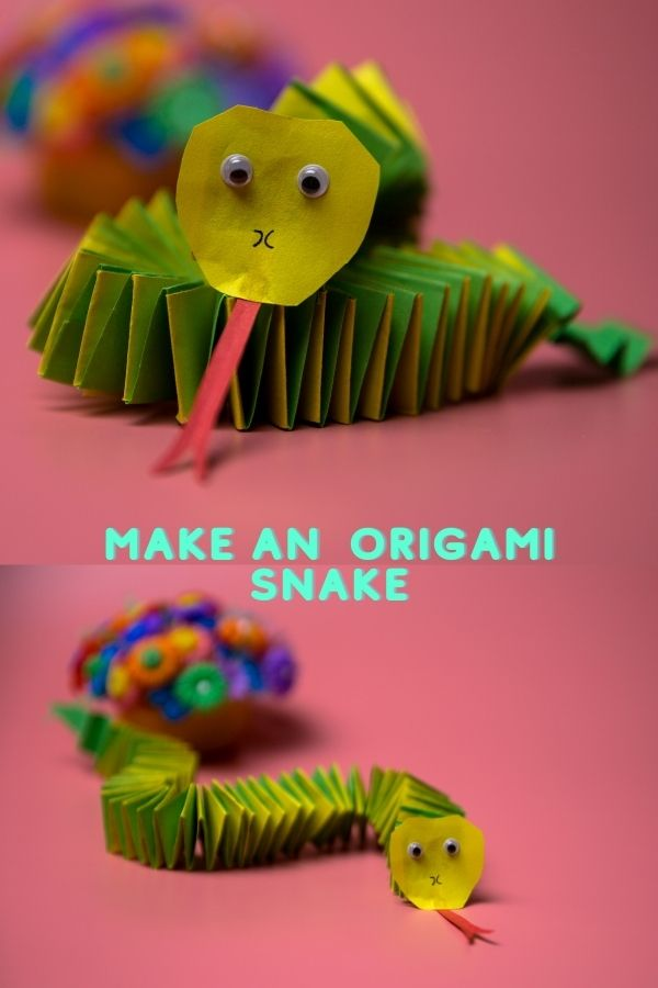 How do you make a simple snake?