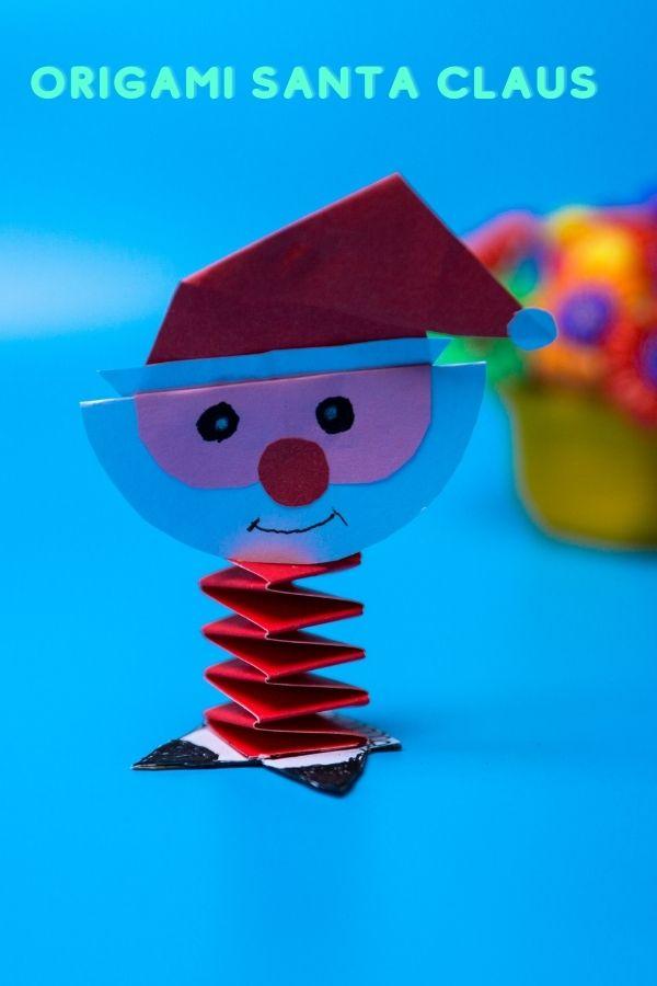 Easy Origami Santa Claus
