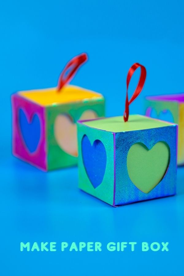 How to Make Paper Gift Box, DIY Gift Box or handmade gift box making at home. This is a cardboard craft or easy paper craft idea. It's easy to make you own gift box.