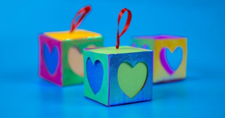 diy crafts paper gift box