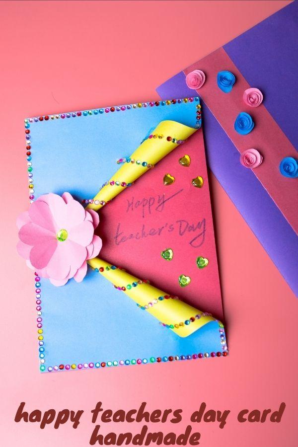 happy teachers day card diy