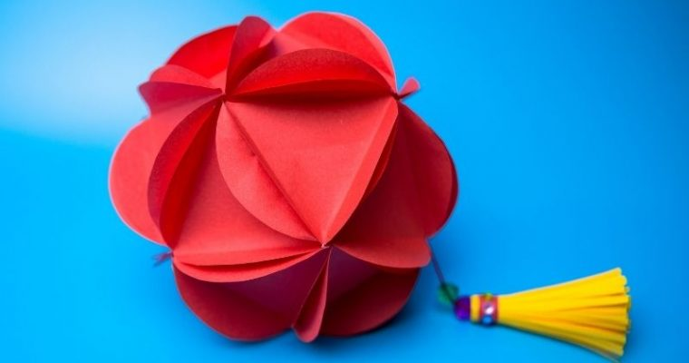 how to make a origami lantern