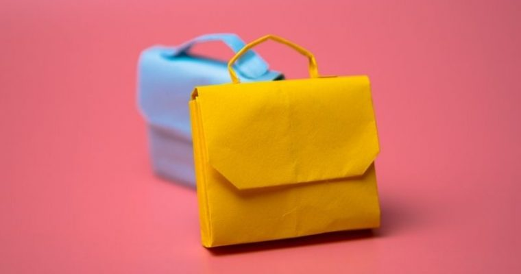 how to make an paper briefcase