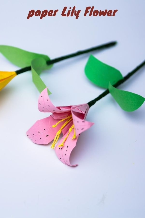 How to Make an Easy Origami Lily Flower