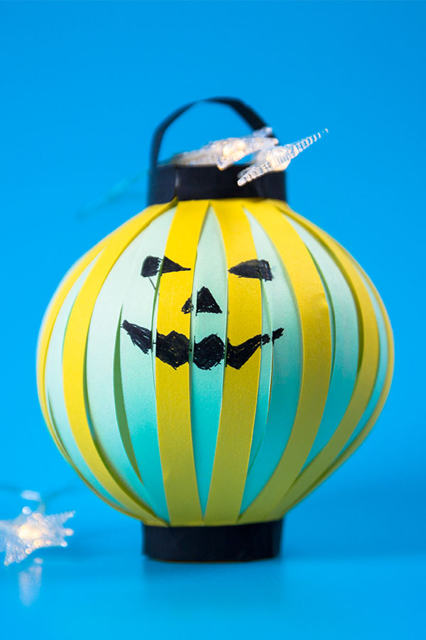 How To Make Paper Pumpkin Lantern