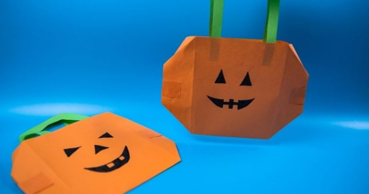 How to Make a Paper Halloween Bag
