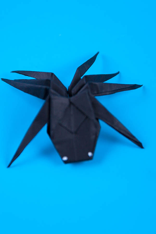 How to make a paper spider