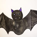 Step by Step Bat Drawing for kids