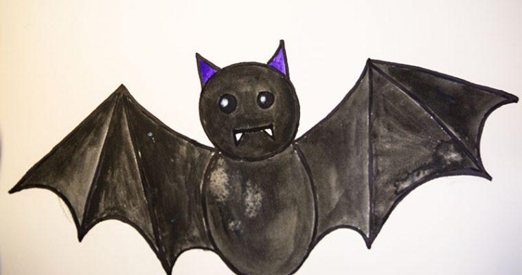 How To Draw Bat