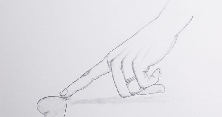 How to Draw hands and love