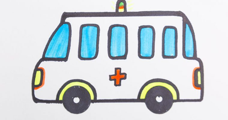 Draw an ambulance