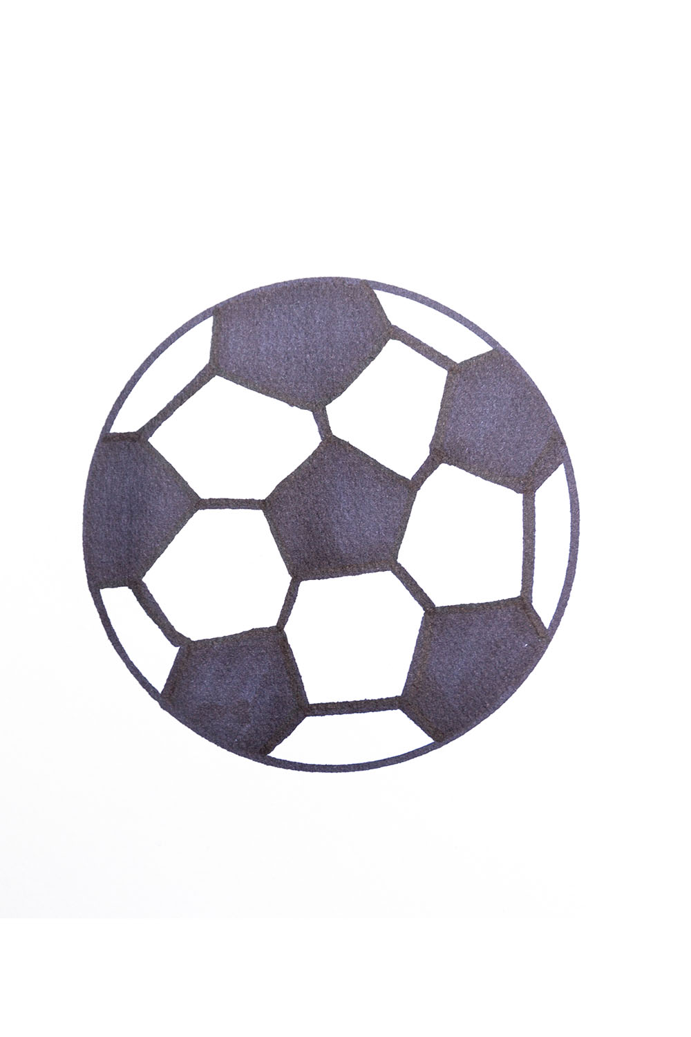 How to draw football